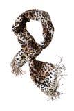 Bufanda del leopardo imágenes de archivo libres de regalías