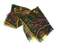 Bufanda del lujo del color Imagenes de archivo