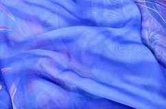 Bufanda del ` s de las mujeres Textura, tela Foto de archivo