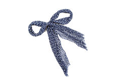 Bufanda femenina azul Fotografía de archivo