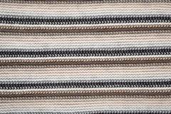 Bufanda hecha punto Fotografía de archivo