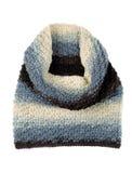 Bufanda hecha punto del color Imagen de archivo