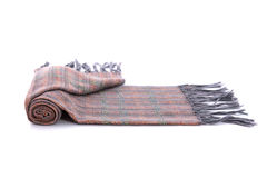 Bufanda multicolora hermosa fotografía de archivo libre de regalías