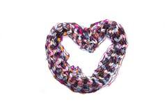 Bufanda multicolora hermosa Imagen de archivo libre de regalías