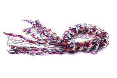 Bufanda multicolora hermosa fotografía de archivo
