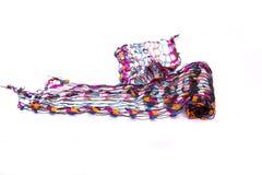 Bufanda multicolora hermosa fotos de archivo