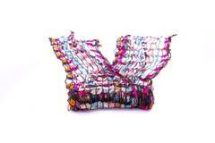 Bufanda multicolora hermosa foto de archivo libre de regalías