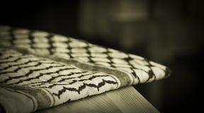 Bufanda palestina Imágenes de archivo libres de regalías