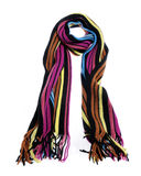 Bufanda rayada Imagen de archivo libre de regalías