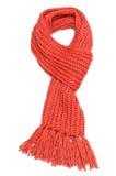 Bufanda roja Foto de archivo libre de regalías