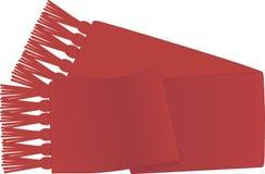 Bufanda roja Fotos de archivo