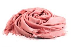 Bufanda rosada Imagenes de archivo