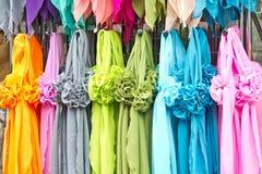 bufandas Imágenes de archivo libres de regalías