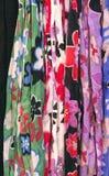 Bufandas con el modelo de flor Foto de archivo libre de regalías