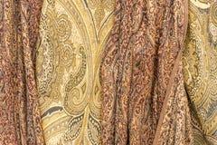 Bufandas de la cachemira Imagen de archivo