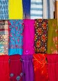 Bufandas exóticas imagen de archivo