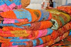 Bufandas hermosas Fotografía de archivo libre de regalías