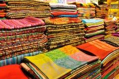 Bufandas hermosas Foto de archivo libre de regalías