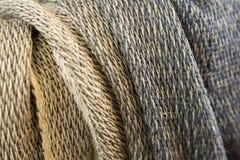Bufandas tejidas Foto de archivo libre de regalías
