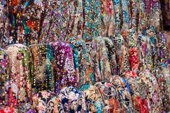 Bufandas turcas coloridas foto de archivo libre de regalías
