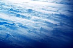 Bufera di neve Fotografie Stock