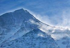 Bufera di neve Fotografia Stock