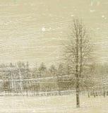 Bufera di neve illustrazione vettoriale