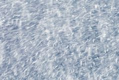 Bufera di neve Immagini Stock