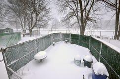 2016 bufere di neve medio-atlantiche (U.S.A.) Fotografia Stock