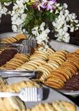 bufetów piec ciastka obrazy royalty free