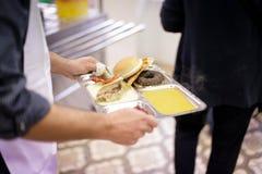 Bufet dla biedy Fotografia Stock