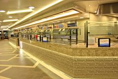 Bufet stacja Obraz Royalty Free