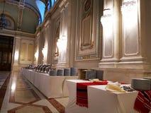 Bufet w luksusowym korytarzu obrazy royalty free