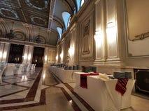 Bufet w luksusowym korytarzu fotografia royalty free
