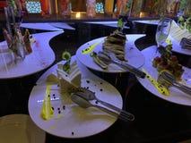 Bufet w restauraci obrazy royalty free