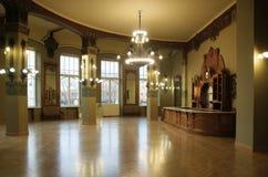 Bufet w sztuki Nouveau stylu w restauracji Vitebsk stacja kolejowa zdjęcie stock