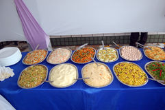 bufeta asortowany jedzenie zdjęcia stock