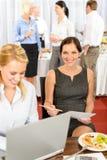 bufeta biznesowej firmy kobiety praca Fotografia Royalty Free