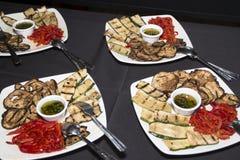 Bufeta jedzenia talerz Zdjęcie Royalty Free