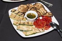 Bufeta jedzenia talerz Fotografia Royalty Free