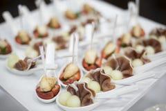 Bufeta jedzenie Obrazy Royalty Free