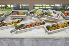 Bufeta jedzenie Obrazy Stock