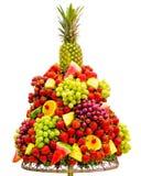 bufeta owoc przygotowany ustalony drzewo w górę ślubu obraz royalty free