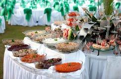 bufeta owoce morza stół Zdjęcie Royalty Free