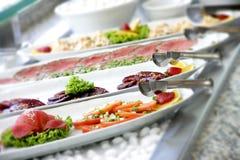 Bufete de ensaladas Foto de archivo