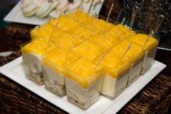 Bufete de Sugar Confection Dessert Layered Sweets imagens de stock royalty free