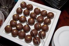 Bufete de Sugar Confection Dessert Truffle Sweets foto de stock