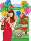 Bufete do feriado da tentação Imagem de Stock Royalty Free