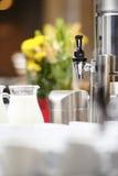 Bufete do hotel do café Imagem de Stock Royalty Free