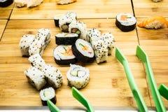Bufete do sushi imagem de stock